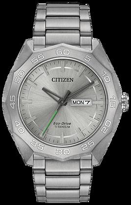 Citizen Watch Bracelet Silver Tone Titanium Part # 59-R00403
