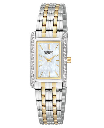 Citizen Watch Bracelet Two Tone Stainless Steel Part # 59-S06514