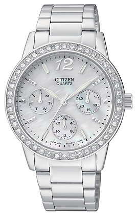 Citizen Watch Bracelet Silver Tone Stainless Steel Part # 59-S04816