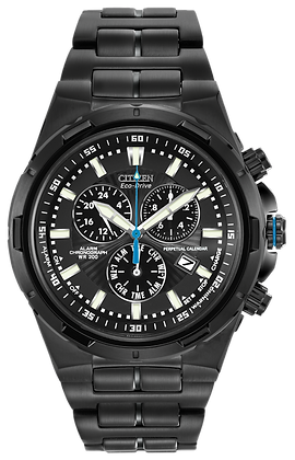 Citizen Watch Bracelet Black Ion Stainless Steel Part # 59-S04359