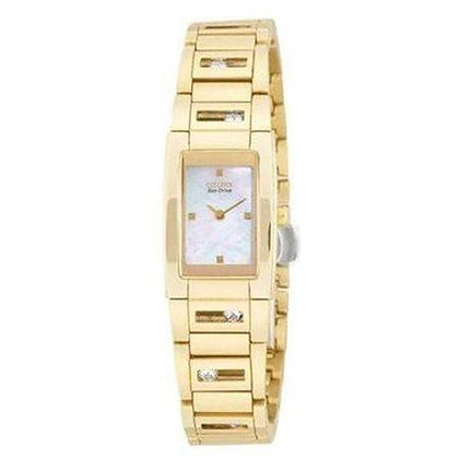 Citizen Watch Bracelet Gold Tone Stainless Steel Part # 59-K00307