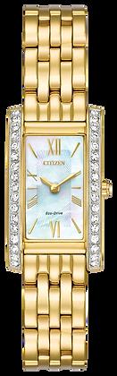 Citizen Watch Bracelet Gold Tone Stainless Steel Part # 59-R00448