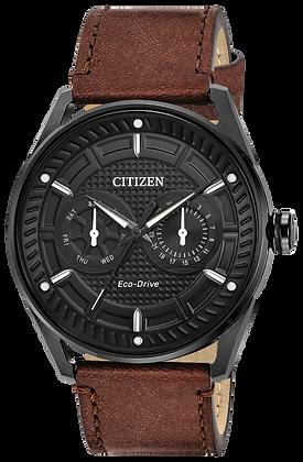 Citizen Watch Strap Brown Leather Part # 59-S53784