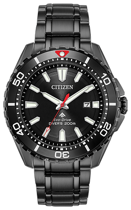 Citizen Watch Bracelet Black Ion Plated Stainless Steel Part # 59-S07225