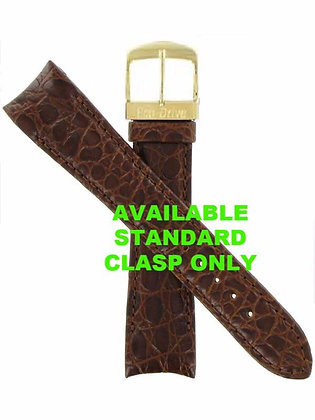Citizen Watch Band Brown Leather 22MM Specialty Standard Buckle Part# 59-S52419