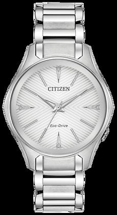 Citizen Watch Bracelet Silver Tone Stainless Steel Part # 59-S07027