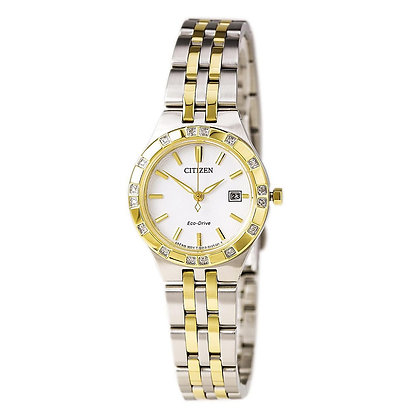 Citizen Watch Bracelet Two Tone Stainless Steel Part # 59-S06556