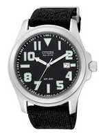Citizen  Watch Band Black  Cloth  21MM Part # 59-S51168