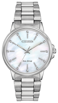 Citizen Watch Bracelet Silver Tone Stainless Steel Part # 59-R00519