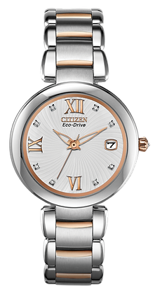 Citizen Watch Bracelet Two Tone Stainless Steel Signature Part # 59-S05406