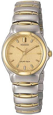 Citizen Watch Bracelet Two Tone Stainless Steel Part # 59-H0812