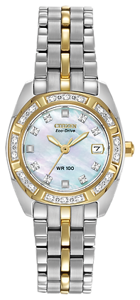 Citizen Watch Bracelet Two Tone Stainless Steel Part # 59-S04130