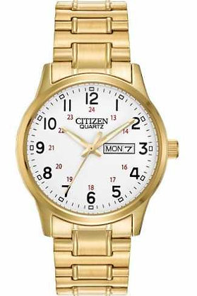Citizen Watch Bracelet Gold Tone Expansion Stainless Steel Part # 59-BF0612-95A