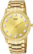 Citizen Watch Bracelet Gold Tone Stainless Steel Part # 59-S02826