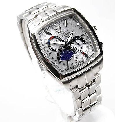 Citizen Watch Bracelet Silver Tone Stainless Steel Part # 59-S01820