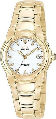 Citizen Watch Bracelet Gold Tone Stainless Steel Part # 59-H1389