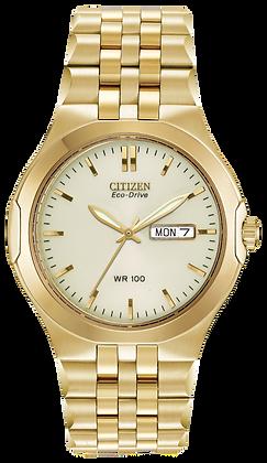 Citizen Watch Bracelet  Gold-Tone   Stainless Steel Part # 59-S02819