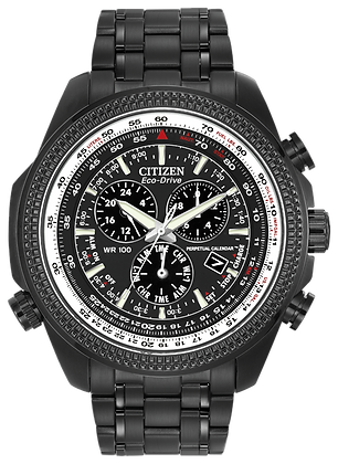 Citizen Watch Bracelet Black Ion Plated Stainless Steel Part # 59-S04779