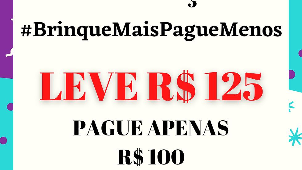 Promoção #BrinqueMaisPagueMenos