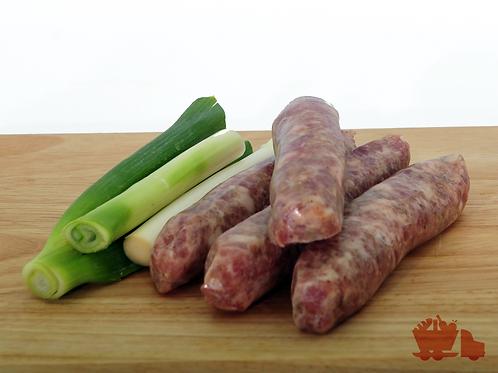 Pork & Leek Sausages