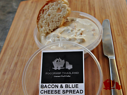 Mjuk Ost - Swedish Spreadable Cheese with Bacon & Blue Cheese