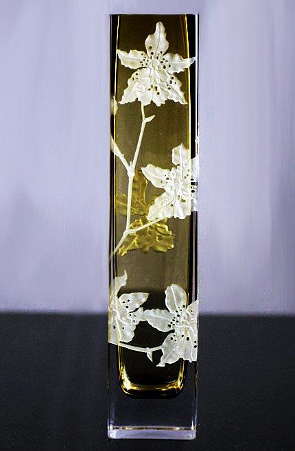Odontoglossum Vase 'Golden Tiger' (Limited Edition)