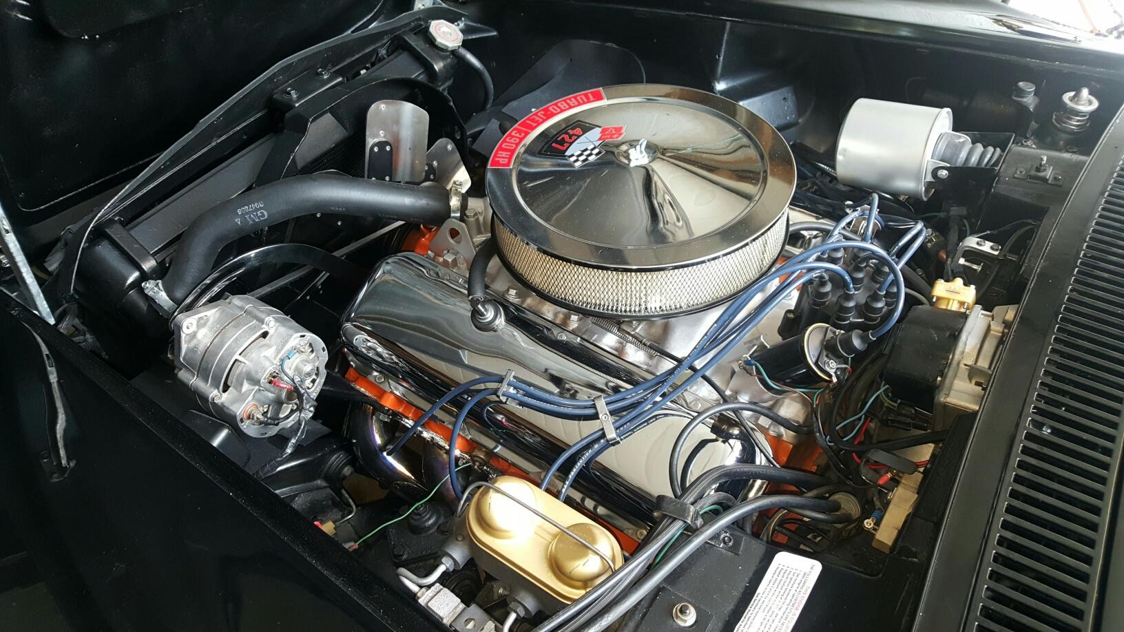 Corvette 1968 cabriolet 427 ci 8