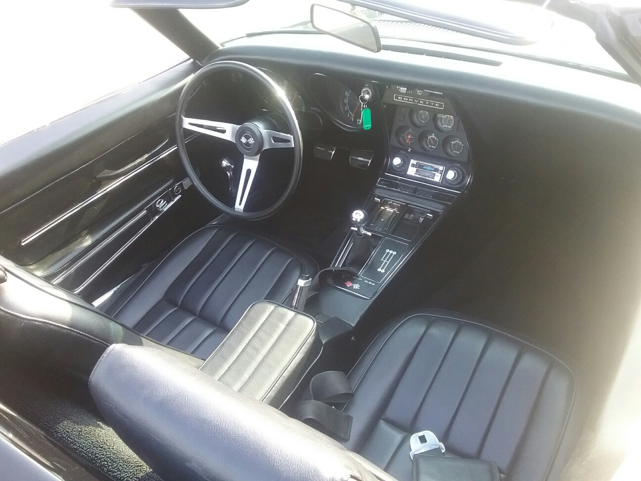 Corvette 1968 cabriolet 427 ci 7