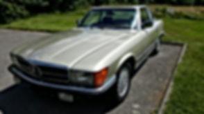 Mercedes 450 SL 1980
