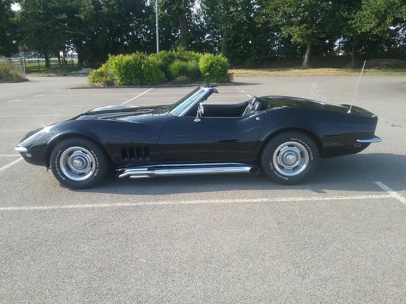 Corvette 1968 cabriolet 427 ci 3