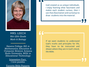 ICS Teacher Feature Interview: Mrs. Leech