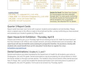 Announcements & Events: April 2, 2021