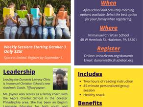 Dunamis Literacy Clinic