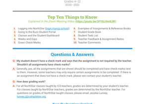 NorthStar Top Ten Things to Know