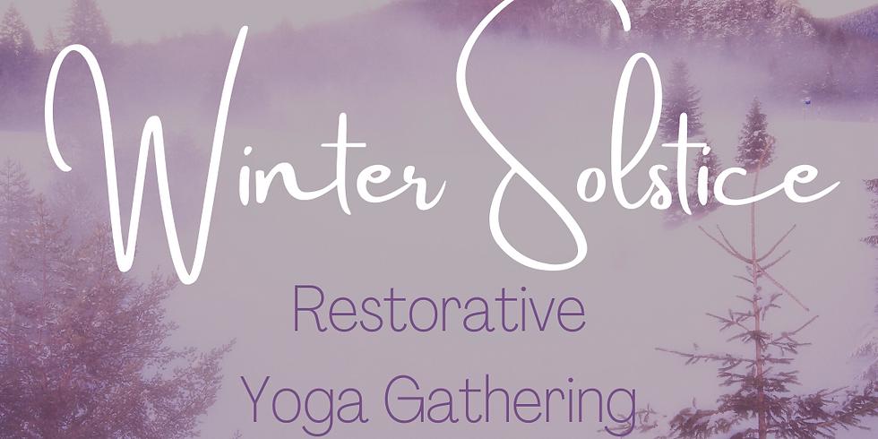 Winter Solstice Restorative Yoga Gathering