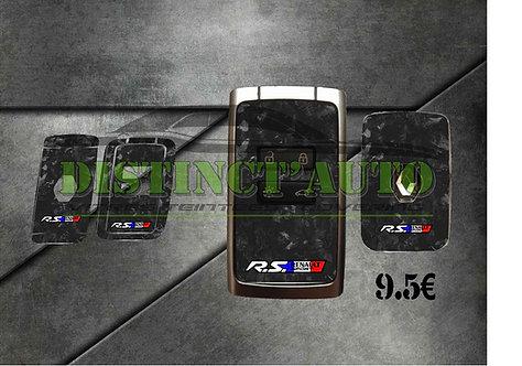 Stickers de carte Renault 2 boutons