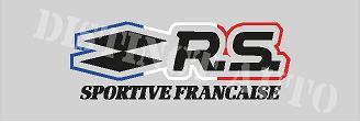 rs sportive française 78x27 mm