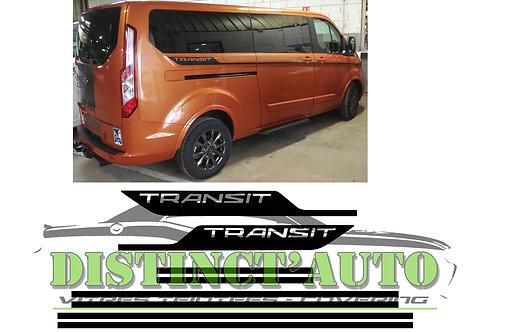 Bandes latérales pour ford transit custom