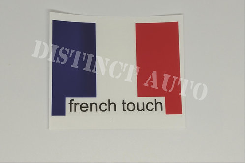 french touch 75x55 mm