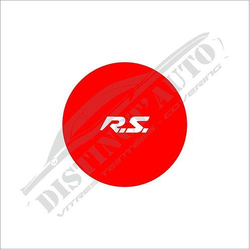 Sticker bouton démarrage Renault SPORT rouge