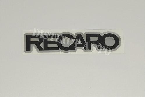 recaro chrome 95x20 mm