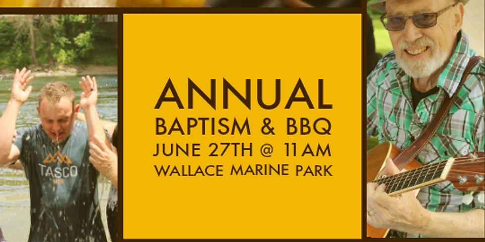 Baptism & BBQ - Wallace Marine Park