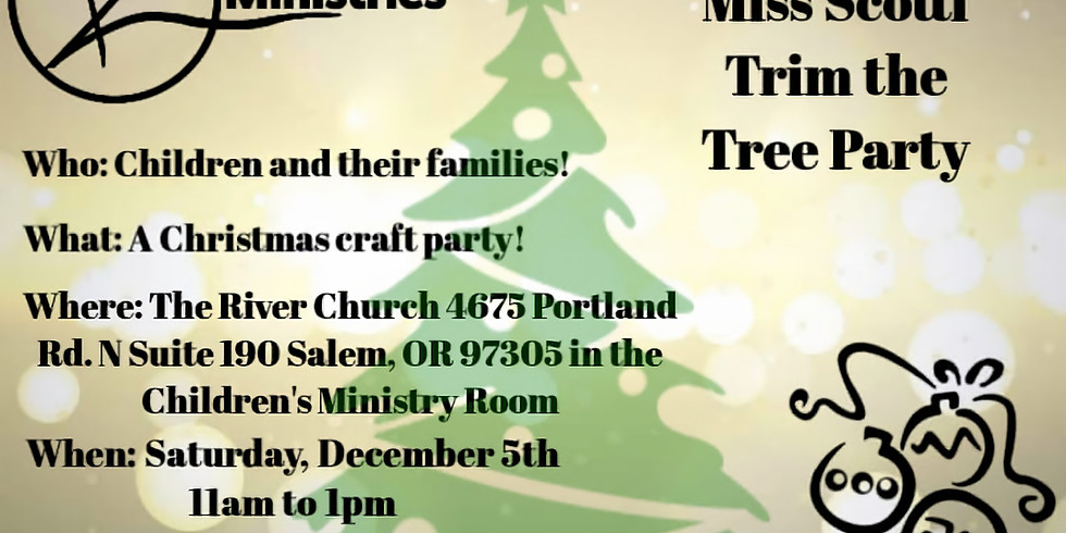 Annual Miss Scotti Trim the Tree Party