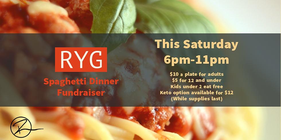SRYG Spaghetti Dinner Fundraiser