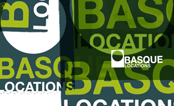 Logo Basque Locations realizado por Trafico Grafico