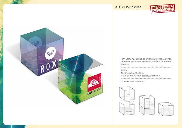 PLV Quiksilver y Roxy realizados por Trafico Grafico