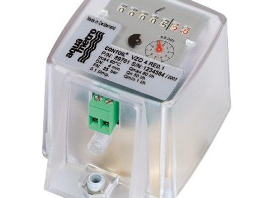 Aquametro VZO 4 QMin Mekanik Göstergeli Dizel Yakıt Sayaçları