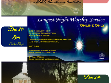 Upcoming Special Services