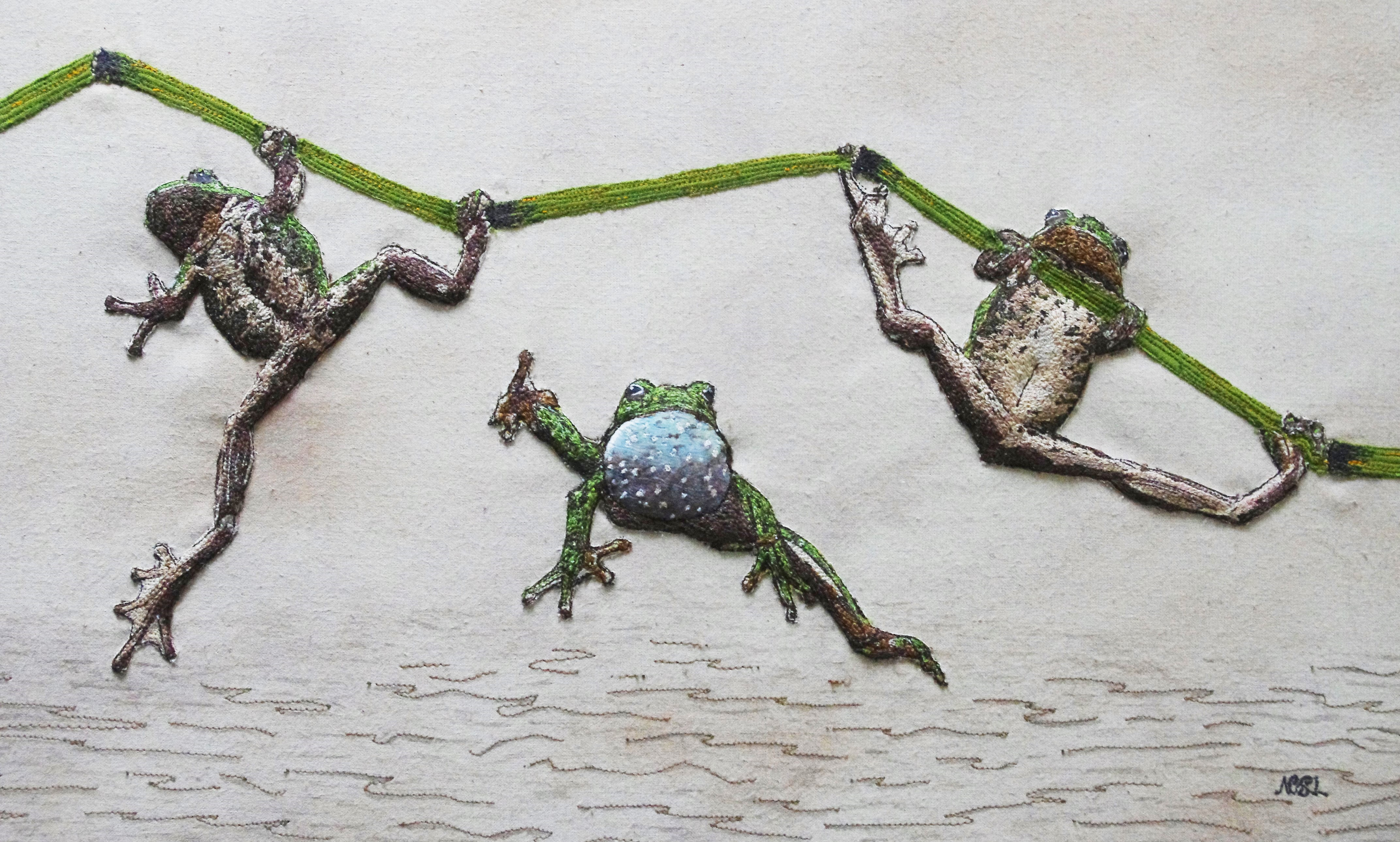 Leap Frog (SOLD)