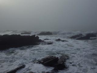 Fog on Whitsand Bay